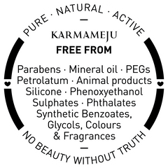 Pure / Natural / Active – Karmameju Skincare