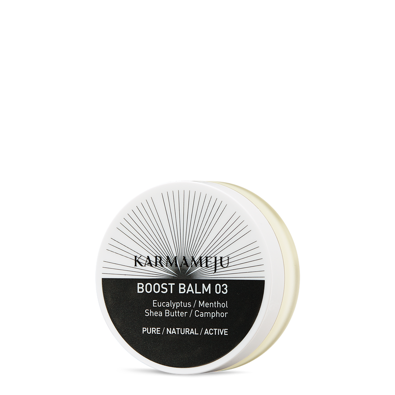 Karmameju Body Balm Travel Size, BOOST 03, contains 20 ml