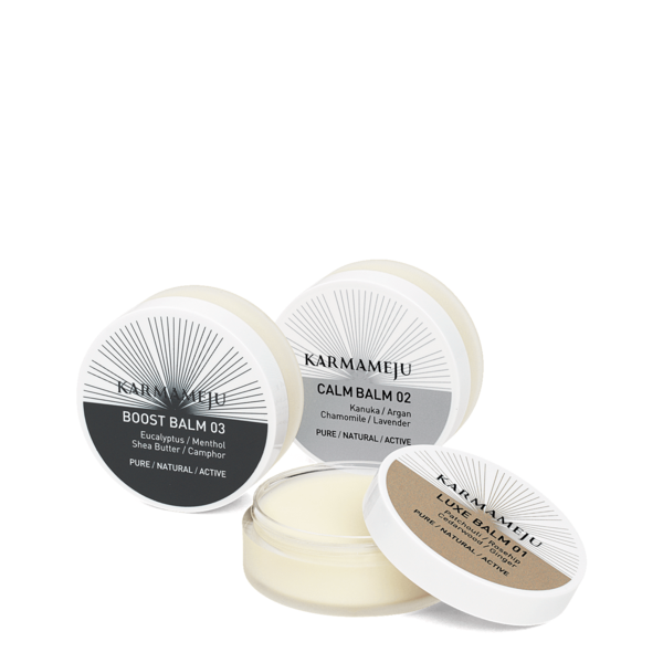 Karmameju Bundle, LUXE 01 20 ml, CALM 02 20 ml, BOOST 03 20 ml
