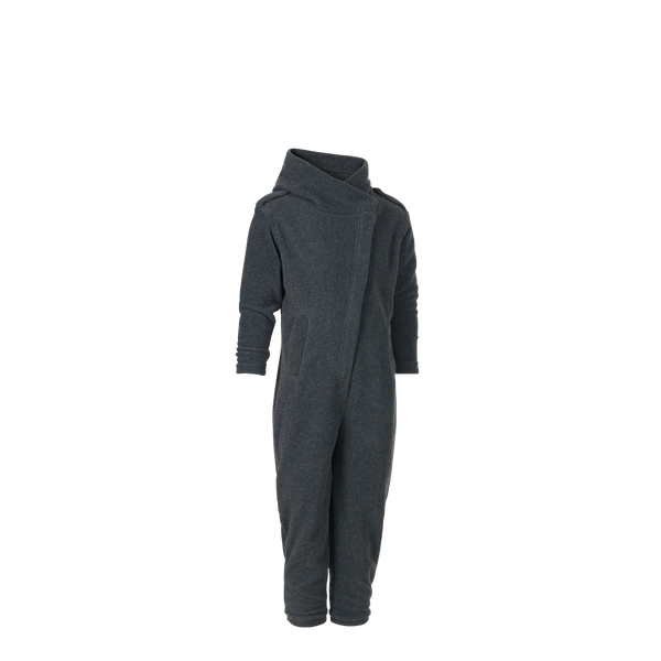 Karmameju Fleece pantsuit, MAKALU, Dark grey