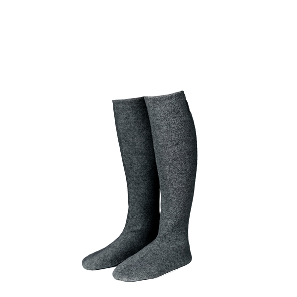 Karmameju Fleece Socks, COZY, Dark Grey