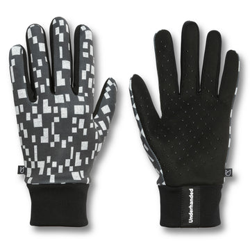 Black Digital Performance Glove by UNDERHANDED