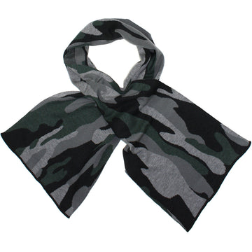 Lambswool Camo Scarf by Benson