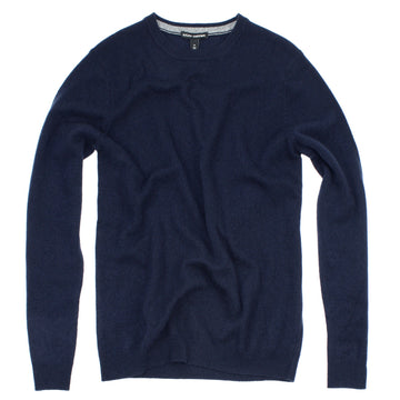 Deep Navy Italian Cashmere Crewneck by A.C.I.