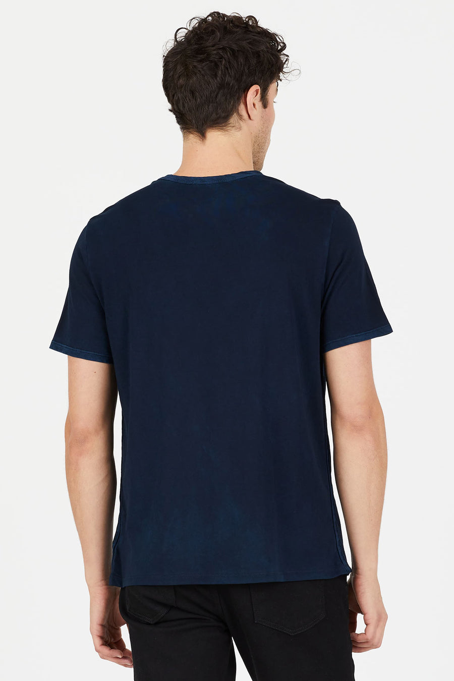 Vintage Navy Supima Cotton Essential Tee by Cotton Citizen