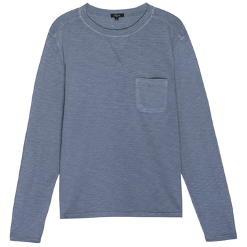 Duke Steel Blue Crewneck Tee by RAILS