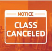 All Classes - Stop until further notice