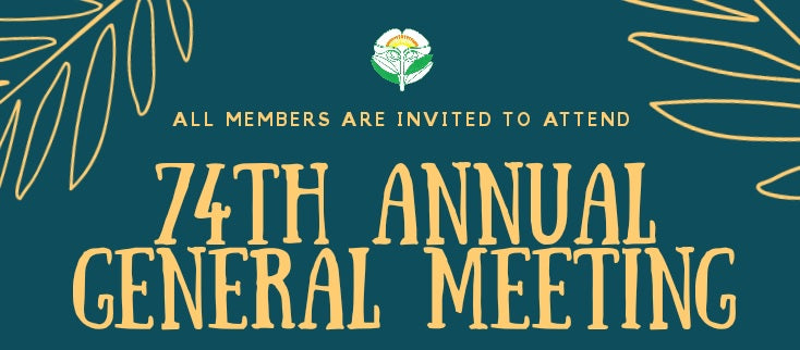 Reminder!! Join us Today at 74th Panaga Club AGM @7pm-9m in Main Hall