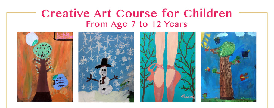 Arts & Crafts - Creative Art Course for Children with Atelier Huifong on 27 June & 4 July