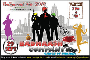 BOLLYWOOD NIGHT 2018 – BADMAASH COMPANY (29/9/2018)