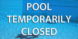Big Pool Closure From 25 March 2019 Onwards