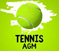 Panaga Tennis AGM on 5 August 2020 @ 7pm Infront Of The Tennis Shop