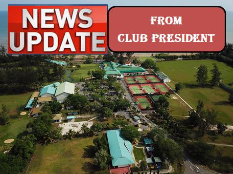 News Update from Club President (Published on 29/5/2020)