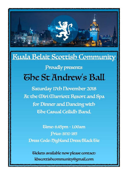 St Andrew's Ball (17/11/2018) - Tickets NOW ON SALE - Postponed