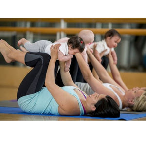 Mother and Baby Yoga class