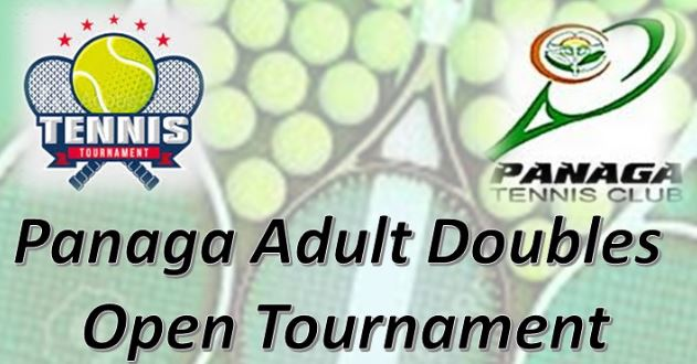 Panaga Tennis Adult Doubles Open Tournament on 31 January - 7 February 2020