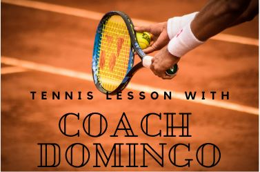 Coach Domingo Tennis Lesson Will Be Cancelled From 20 December - 4 January 2020