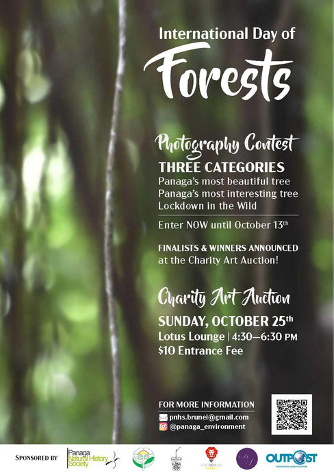 International Day of Forests Art Auction - Sunday, 25/10/2020