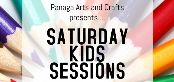 Arts and Crafts - Saturday Kids Sessions on 22 June and 29 June 2019