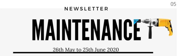 Maintenance Newsletter 05