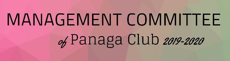 2019-2020 Panaga Club Management Committee