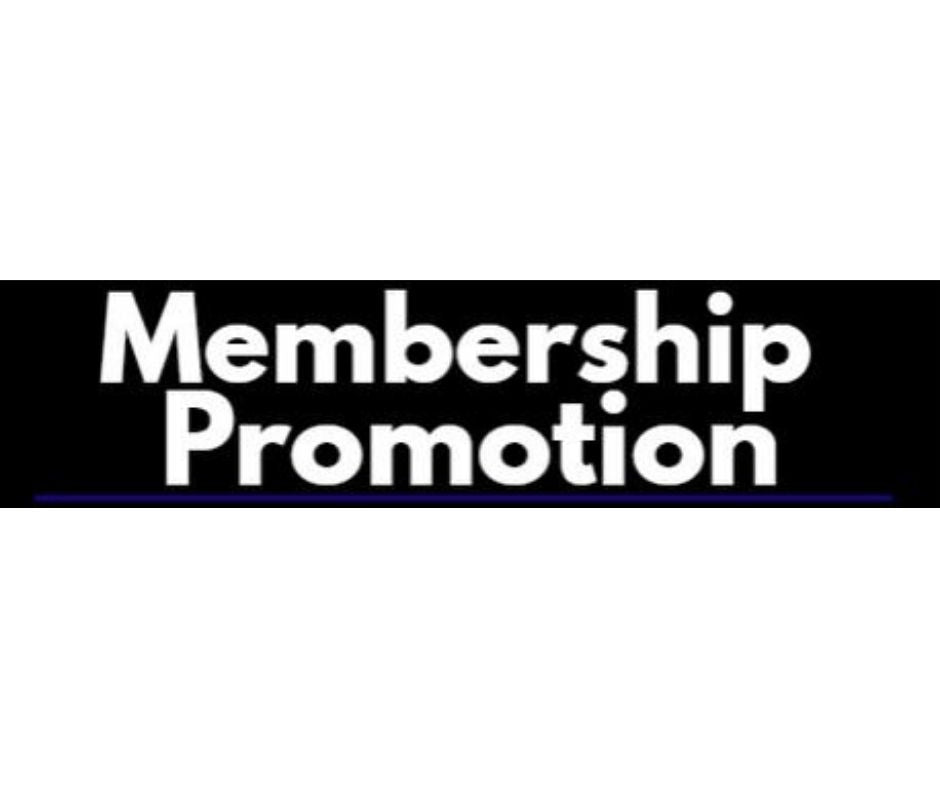 Club Membership Group Promotion till 22/2/2021!!