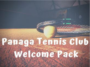 Panaga Tennis Club Welcome Pack
