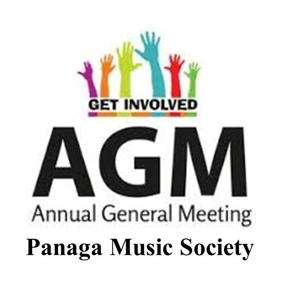 Panaga Music Society (PMS) AGM on 9 March 2020