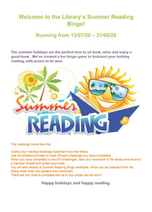 The Panaga Library Summer Challenge is back!