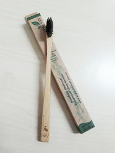 Toothbrush (Bamboo) - Charcoal