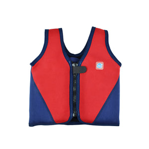 Learn To Swim Float Jacket Navy/Red