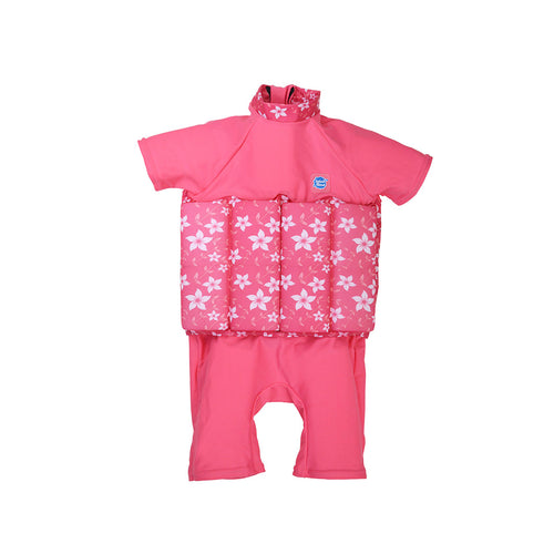 UV FloatSuit with Zip Pink Blossom