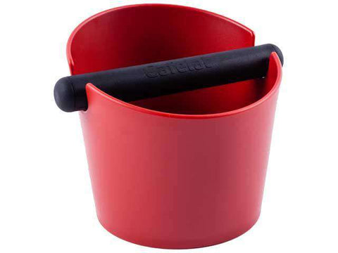 Red Large Tubbi Knock Box Cafelat
