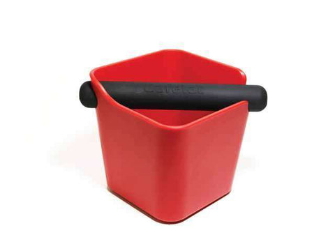 Red Home Knock Box Cafelat