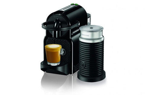 Nespresso Inissia Coffee Machine with Milk Frother