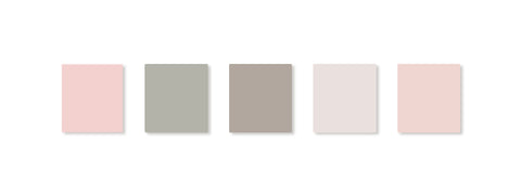 blush tones color palette