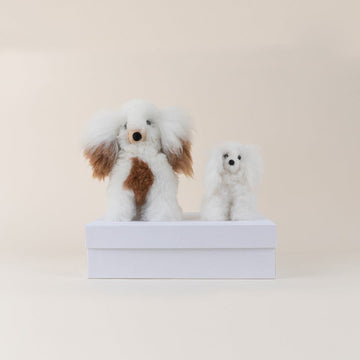 Valentine's Luxury Alpaca Stuffed Animal Gift Box; by TheBoxNY