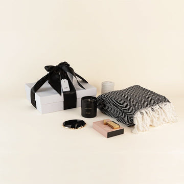Black Luxury- Home Essentials Gift Box: Deluxe