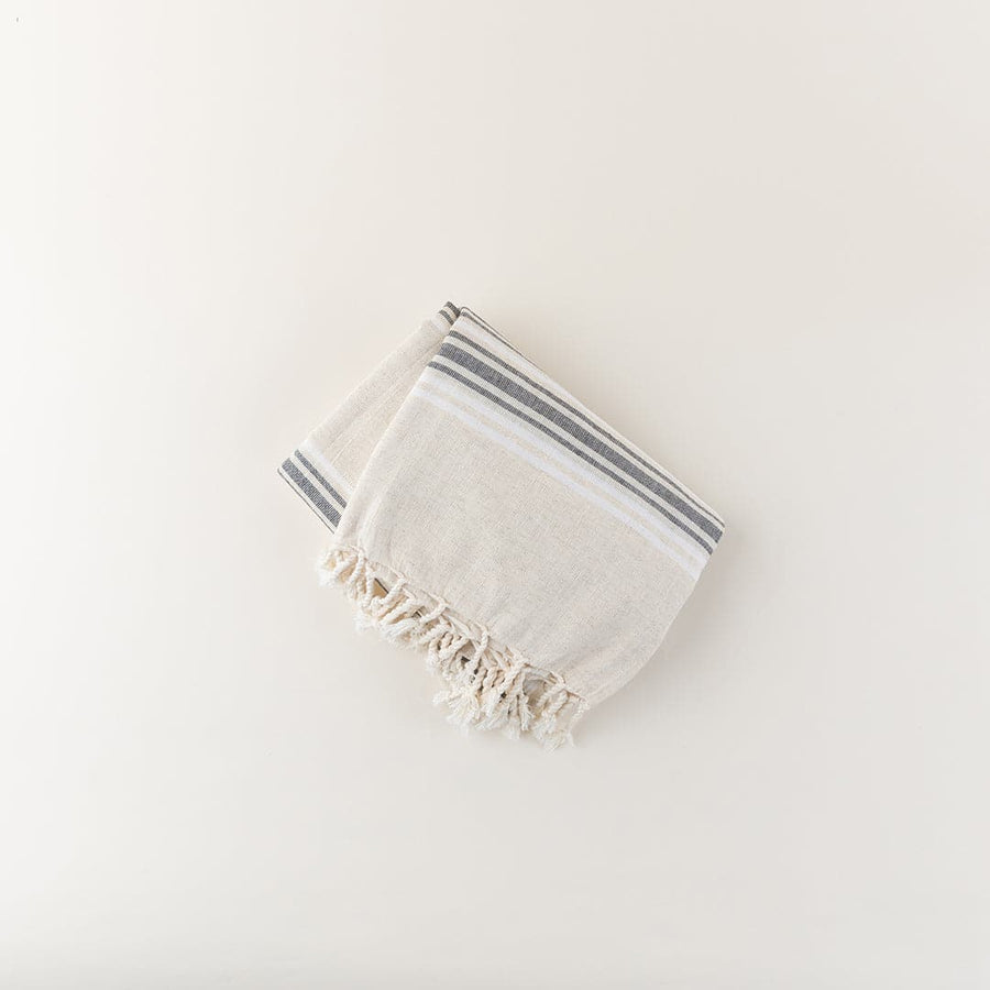 Turkish Peshtemal Linen Beach Towel