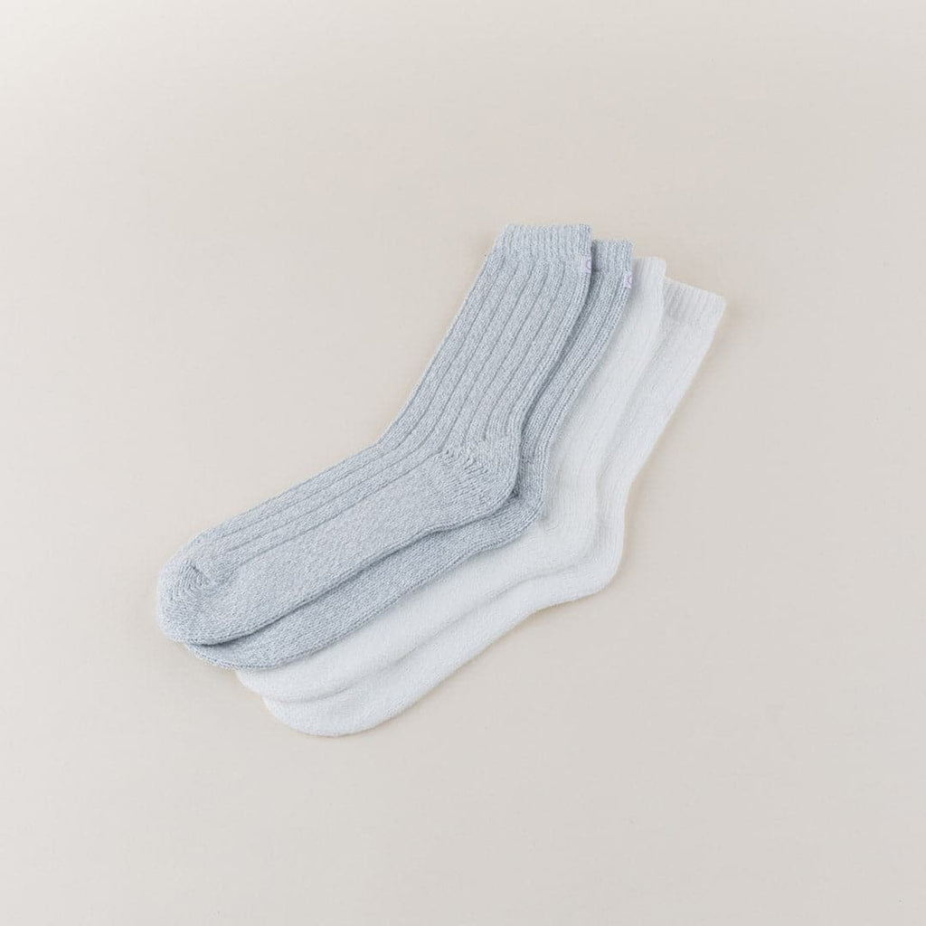 Ribbed Lounge Socks; by Carole Hochman