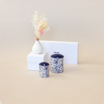 Dried Floral and Candle Gift Set