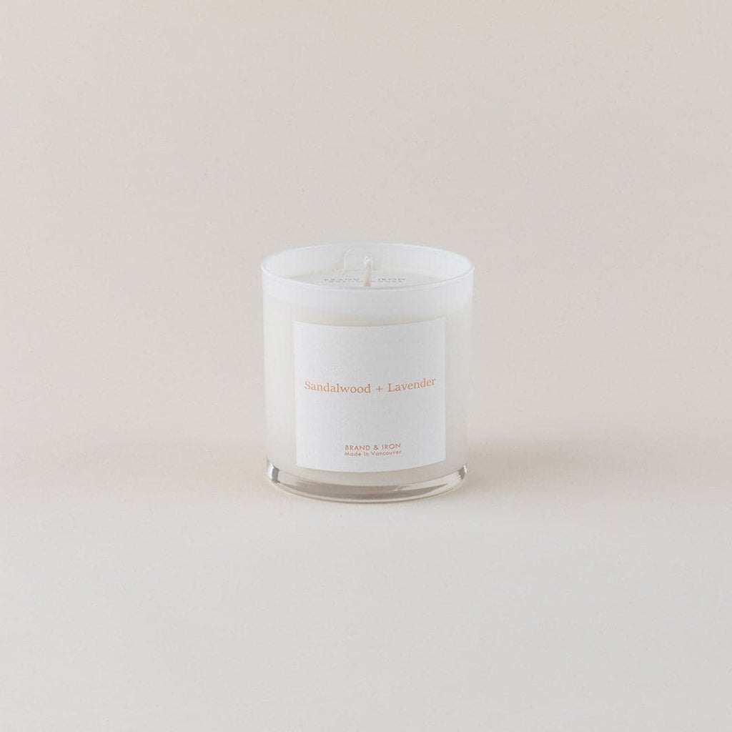 Light Spaces Candle in Sandalwood & Lavender; by Brand+Iron