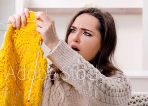 Knitting 911 - Fixing Mistakes with Sally