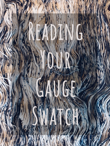 Reading Your Gauge Swatch Workshop