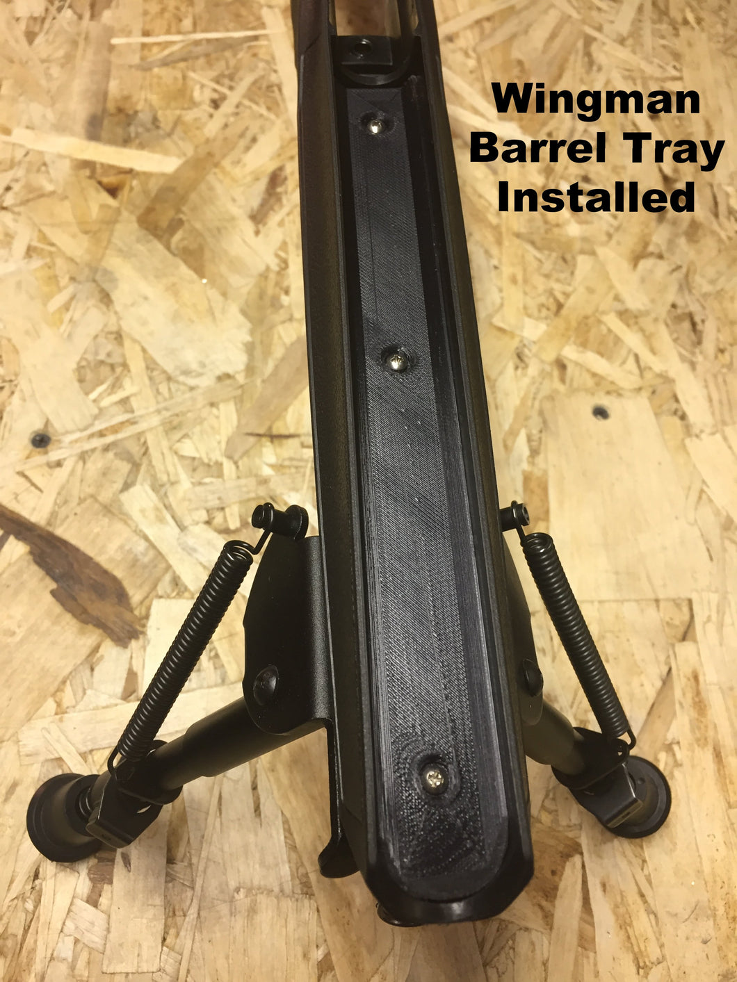 Savage B22 and B17 - Free Float Barrel Tray/Stiffener Plate Design Package