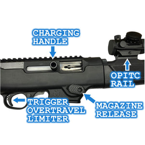 Ruger PC Carbine PCC - Barrel Mounted Optic Rail *Free Shipping*