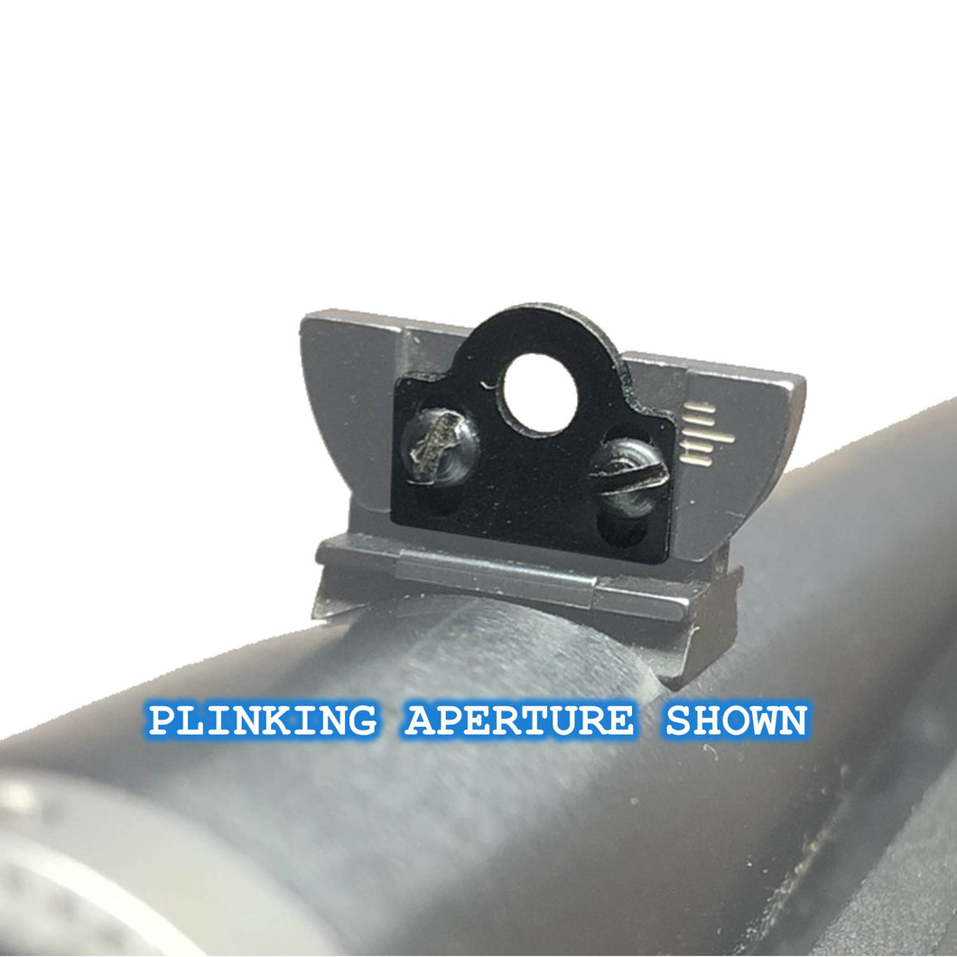 Ruger 10/22 - Aperture Ghost Ring Sights Set Stainless Steel *Free Shipping*