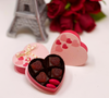 Plougastel Strawberry Chocolate Hearts - Box of 4