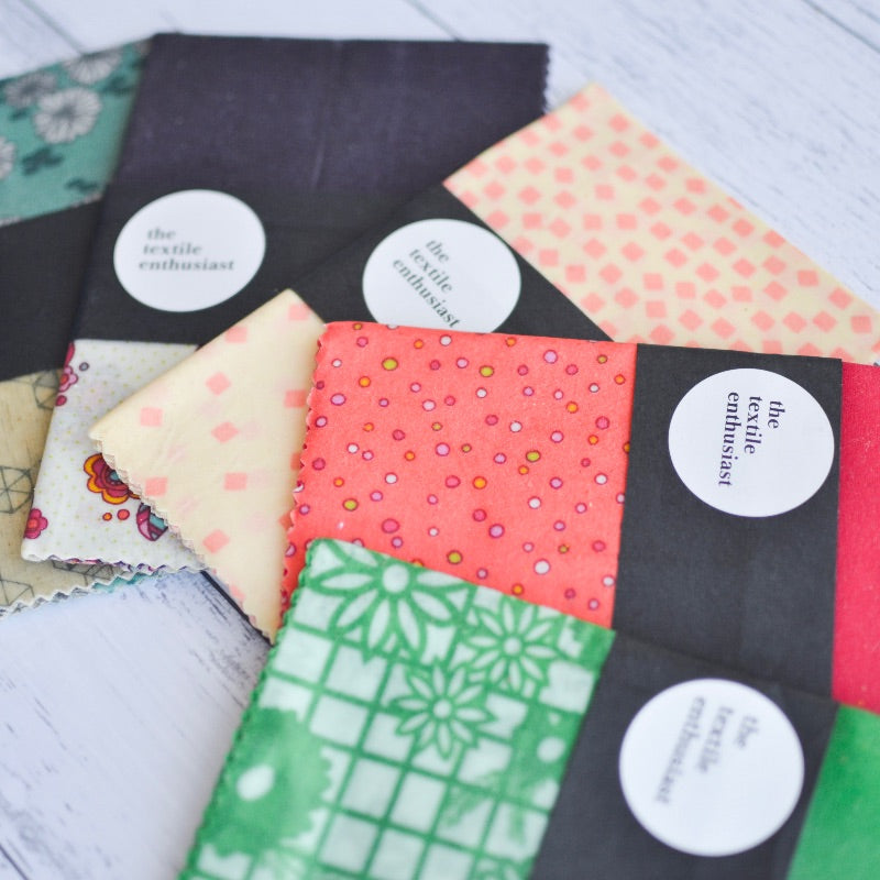 TE Beeswax Wraps - Small 2 pk