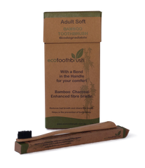 Eco Bamboo Toothbrush - Charcoal Bristle